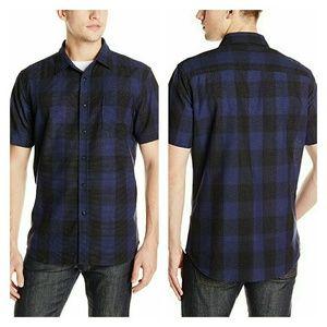 Sovereign Code Other - Men's short sleeve plaid shirt