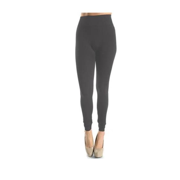1894c4b104b NWT Plus Size (12-24) Gray High Waisted Leggings