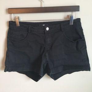 H&M Pants - H&M Black Shorts