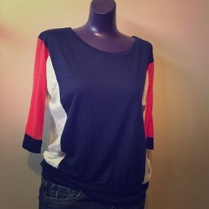 Forever 21- 3/4 sleeve top