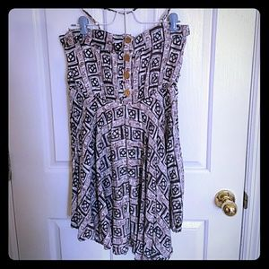 EUC Francesca's Tribal Pattern Festival Dress