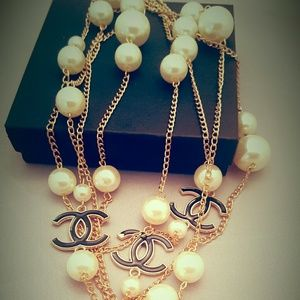 Chanel  Jewelry - Long Infinity Necklace