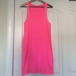 Pink J.Crew Tank Dress, Sz M