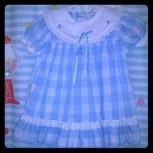 Little Lass Other - Little Lass vintage spring dress size 4