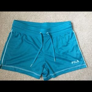Fila Pants - New aqua green Fila speed shorts