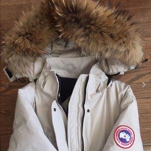 Canada Goose Jackets & Blazers - Canada Goose Cream Jacket
