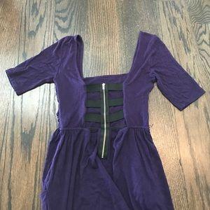 Cage-back dress