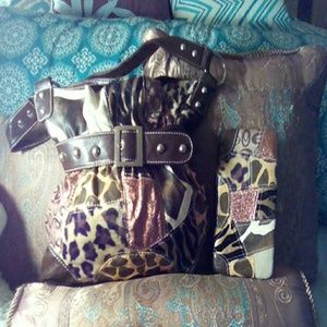 Handbags - New animal print handbag