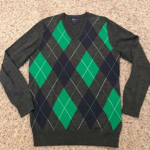 Fred Perry Other - Men's Fred Perry Argyle Sweater Medium