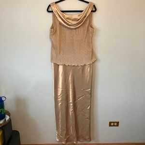 Patra Dresses & Skirts - Gold floor length dress