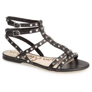 Sam Edelman Shoes - Sam Edelman Berkeley Black Studded Sandals