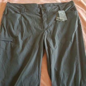 Eddie Bauer Pants - Eddie Bauer Gray Travex Flexion Pants Sz 22W