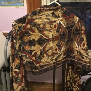 100% silk scarf from museum of art NYC