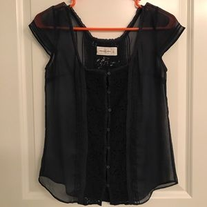 Abercrombie & Fitch Tops - Sheer Tee