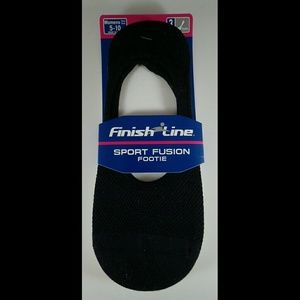 Finish Line Accessories - Finish Line Sport Fusion Footie Socks - NWT