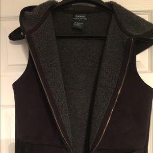 Women's black Ralph Lauren Vest size Medium