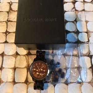 Accessories - Michael Kors tortoise watch
