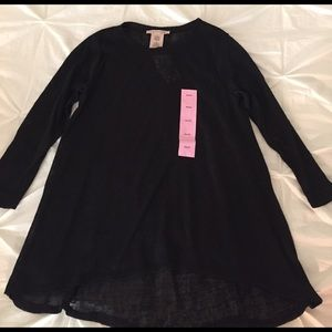 Philosophy Tops - NWT Philosophy HI Lo Pull Over/ Size S