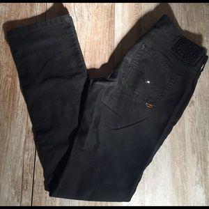 Hugo Boss Denim - Hugo boss black 5 pocket straight leg jeans