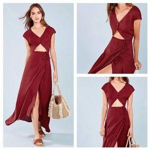 Reformation Dresses & Skirts - Reformation Vista Dress Red NWT