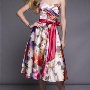 Mori Lee Dresses & Skirts - 🎈SALE🎈MORI LEE Satin Floral prom Dress