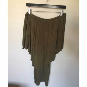 James & Joy Dresses & Skirts - Olive Multi Wear Bodycon Dress