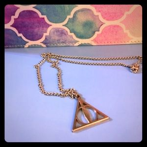 Hot Topic Jewelry - Harry Potter Deathly Hallows Necklace