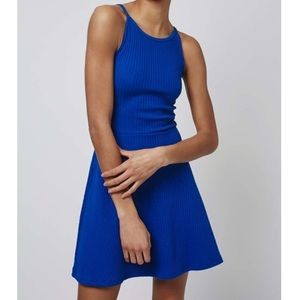 Topshop Dresses & Skirts - Topshop Royal Blue Strappy Back Tunic Dress