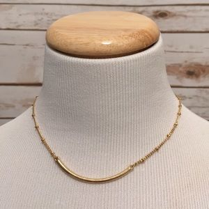 Jewelry - Gold adjustable choker necklace