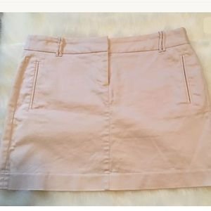 J.Crew Pink Stretch Skirt Size 8