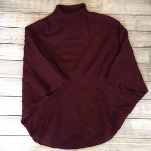 Anthropologie Sweaters - Anthropologie Moth Poncho Style Sweater