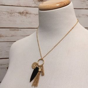 Jewelry - Gorgeous gold & black necklace