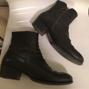 Fiorentini + Baker Shoes - Fiorentini + Baker black leather ankle boots 37
