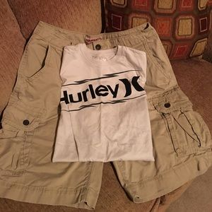 Hurley Other - Tshirt and cargo shorts