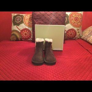 Michael Kors brown booties