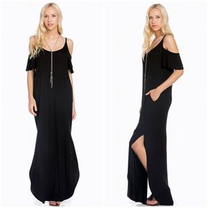 Sweet Pea Dresses & Skirts - 💦Coming Soon 🎉Black long Maxi Dress