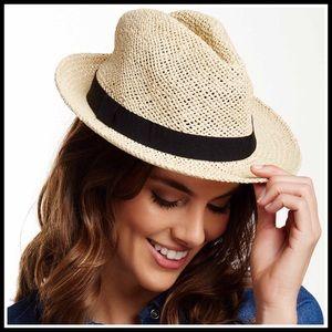 ⭐️⭐️ Banded Fedora Wide Brim Hat