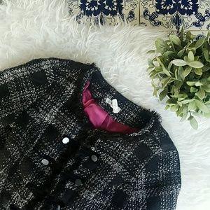 CHARLOTTE RUSSE knit short blazer