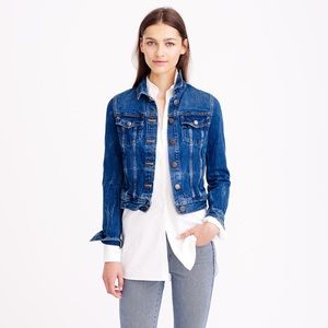 J. Crew Denim Jacket in Recycled Indigo
