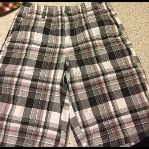 """Route 66 Other - NWT mens long plaid shorts 30"""" waist"""