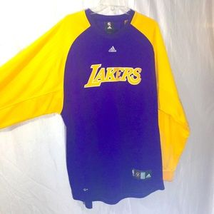 Los Angeles Lakers Authentic NBA Pre Warmup Shirt