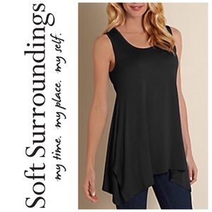 Soft Surroundings Tops - Soft Surroundings Timely Tank