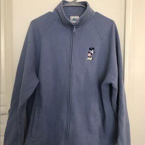 disneyland Sweaters - Disneyland Mickey Mouse zip up jacket
