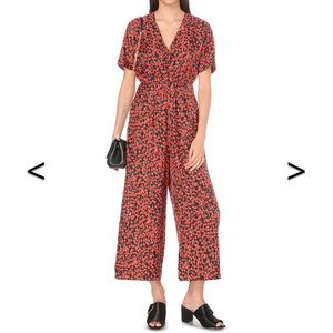 Whistles Other - Whistles cherry jumpsuit