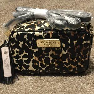 Victoria's Secret Handbags - New VS crossbody in animal print