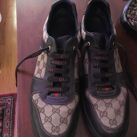 ab444109ed9 Gucci Other - Gucci sneakers shoe size 12 1 2 fits size 12 mens