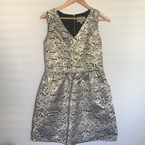 Skies are Blue Dresses & Skirts - Skies are Blue gold dress stitch fix
