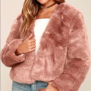 Somedays Lovin Jackets & Blazers - Somedays Lovin The Giver Fur Coat