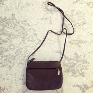 Giani Bernini Handbags - Dark brown leather Giani Bernini cross-body purse