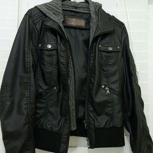 Ci sono Jackets & Blazers - Vegan leather Jacket